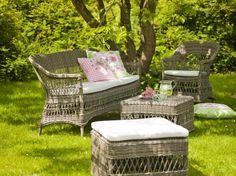 Meble ogrodowe. CHARLOT romantyczne meble ogrodowe. Georgia Garden. Design: Sika-Design Team.