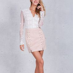 Sexy Fashion Vogue Women Ladies High Waisted Empire Lace Up Pencil Skirt Bodycon Leather Mini Skirt Black Sexy Suede Pencil Skirt, Mini Pencil Skirt, High Waisted Pencil Skirt, Suede Skirt, Lace Up Skirt, Waist Skirt, Leather Mini Skirts, Clubwear, Skirt Fashion