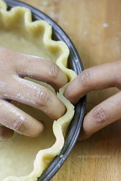Oil-based Vegan Shortcrust Pastry Recipe (No Butter/Margarine) | Made with Aquafaba