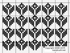 Fair Isle Knitting Patterns, Fair Isle Pattern, Knitting Charts, Baby Knitting, Bargello Patterns, Mosaic Patterns, Embroidery Stitches, Hand Embroidery, Palestinian Embroidery