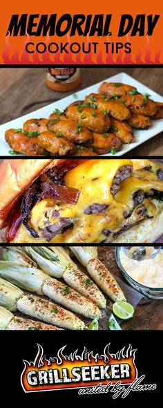 Memorial Day is right around the corner, are you ready? My Cookout Tips will get you up and grilling fast with the rest of America! Potluck Recipes, Barbecue Recipes, Grilling Tips, Grilling Recipes, Cookout Food, Picnic Foods, How To Cook Steak, Outdoor Entertaining, Popular Recipes