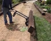 Image result for railroad ties driveway edging