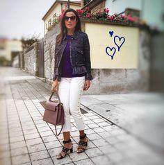 Ei menina... Se ame muito, você não precisa seguir nenhum padrão para se achar linda. E por favor, não demore muito para perceber que a beleza mais bonita vem de dentro.  Cuide do seu interior também! 🙂😉 Boa sexta amores. #lookdujour 💜💕 . . . . . . . . . #mylook #tapforcredits #dujour #look #fashion #style #fashiongram #ootd #glam #details #valentino #bag #sophiawebster #shoes #zara #fashionista #fashioninspo #fashionstyle #digitalinfluencer  #thelookface #itgirl #fashionblog #myoutfit…