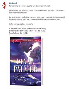 Romantic Girl: Promoção Diana Palmer - Último Dia    E o melhor: serão 05 vencedores!!!    http://su-romanticgirl.blogspot.com.br/2013/02/promocao-diana-palmer-ultimo-dia.html