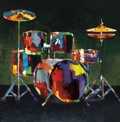 Drum Set by Elli and John Milan