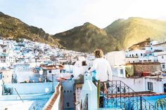 The blue city Chefchaouen in Morocco offers a few great things to do. Use this Chefchaouen guide to plan your itinerary to Morocco. Visit Morocco, Morocco Travel, Blue City Morocco, Morocco Chefchaouen, Travel Couple, Travel Around, Us Travel, Great Places, Travel Photos