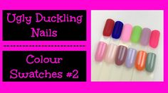 New video up on my Dixie Girlxox YouTube channel.   Ugly Duckling Nails Colour Swatches #2.  #uglyduckling, #gelpolish, #swatches, #mattenails, #mattetopcoat, #nowipetopcoat, #uglyducklingnails, #uglyducklingaustralia, #gelpolishswatches, #firstimpressions, #howtoapplygelpolish, #gelnals, #gelnailart, #gelpolishmanicure