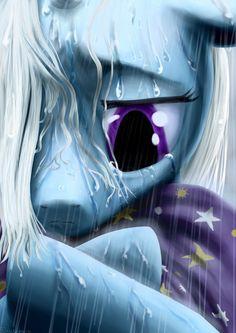 The Sad and Miserable Trixie by Rautakoura.deviantart.com on @DeviantArt