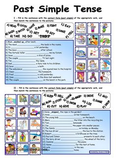 Past Simple Tense*** fully editable *** with key
