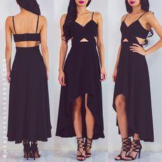 Back In Stock: Got My Eyes On You Dress - Black