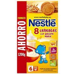 Papilla 8 Cereales con Galleta María Nestlé 1200 gr 6m+