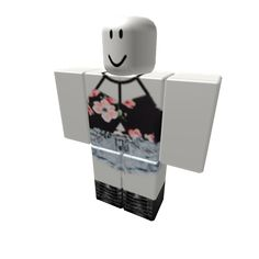 Floral Crop Top w/ High Waisted Shorts & Combats - ROBLOX