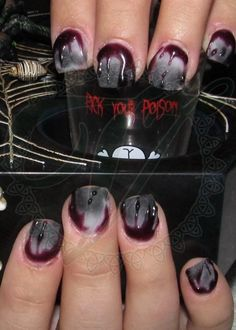 Day 300: Zombie Nail Art - NAILS Magazine