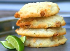 Key Lime White Chocolate Chippers.