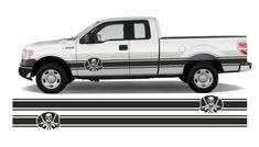 bus pickup truck F150 4x4  side stripes vinyl decals 2x250cm Pickup Trucks, Vinyl Decals, 4x4, Stripes, Vehicles, Cars, Vehicle, Ram Trucks
