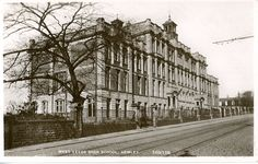 West Leeds High School, Armley, Leeds in In the collection of Leeds Museums and Galleries. Leeds England, Leeds City, West Yorkshire, My Town, Back In Time, Town Hall, Where The Heart Is, Days Out, Good Old