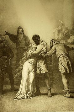 Mihály Zichy - Illustration to Imre Madách's The Tragedy of Man: Phalanster (Scene 1887 Old Paintings, Digital Paintings, Traditional Paintings, Ancient Rome, Digital Illustration, Painting & Drawing, Monochrome, Concept Art, Anime Art