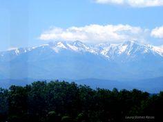 Pirineos desde Elna. Maternité Suisse d'Elne