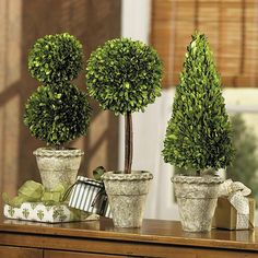 make a christmas topiary - Google Search