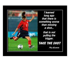 Motivational Wall Art, Inspirational Wall Art, Soccer Motivation, Mia Hamm, Birthday Wall, Soccer Poster, Soccer Quotes, Confidence Building, Quote Posters
