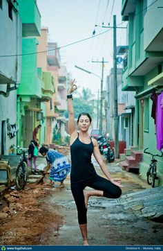 #Yoga Poses Around the World: Tree Pose