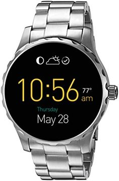 FOSSIL Q MARSHAL DIGITAL DISPLAY STAINLESS STEEL TOUCHSCREEN SMARTWATCH #fashion #trend #style #onlineshop #shoptagr