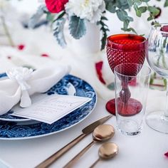 to the Liberty Luncheon by 🇺🇸 Get off our Memorial Day Sale using the code REDWHITEBLUE Invitations: Photography: Florals: Tableware: Home Decor Accessories, Decorative Accessories, Modern Flatware, Modern Tabletop, Blue Interiors, July Wedding, Throw A Party, Luxury Home Decor, Veterans Day