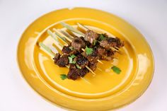 The Chew | Recipe  | Michael Symon's Beef Sirloin With Soy, Ginger And Cilantro
