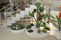 The concepts of inner courtyard are developed for metropolitan premises or for those who do not have a large backyard that conserves a large amount of area. Garden Spaces, Balcony Garden, Interior Garden, Interior And Exterior, Fantasy House, Under Stairs, Outdoor Landscaping, Indoor Plants, Christmas Diy