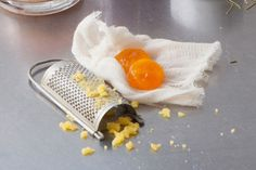 Salt-cured egg yolks