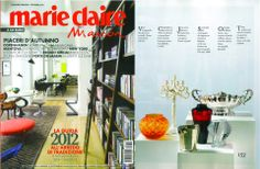 "VILLARI for the magazine ""Marie claire maison"" in october 2012"