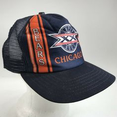 ba5ea4ab1f00a2 Vintage Chicago Bears NFL Super Bowl 1986 Cap Trucker Mesh Snapback New Era  USA #NewEra #BaseballCap
