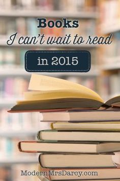 2015 is shaping up to be a great year for publishing. 10 books I can't wait to get my hands on.