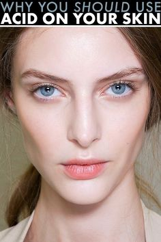 Beauty science: Why you should put acid on your face. DCL formulas contain these effective ingredients: AHA/BHA in our Alpha Beta Gel Toner, Glycolic Acid in our Glycolic Acid Pads and Hyaluronic Acid in our Multi-Action Penta Peel Facial Treatment, Skin Treatments, Beauty Secrets, Beauty Hacks, Skin Peeling On Face, Beauty Skin, Hair Beauty, Health And Beauty Tips, Good Skin