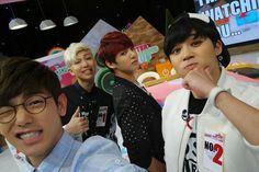 RapMon, Jimin & Kookie on After school club with Eric ♥♥♥