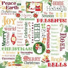 Christmas Home for the Holidays Collage 12 x 12 Paper ($0.69) ❤ liked on Polyvore featuring christmas, backgrounds, filler, letters, natale, text, phrase, quotes and saying