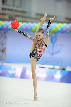 Aleksandra Soldatova, Russia; Russian Nationals, Kazan 2013 #rhythmic_gymnastics