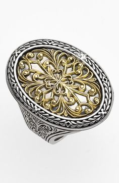 Konstantino Oval Two-Tone Ring available at #Nordstrom
