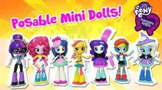 My Little Pony Equestria Girls Minis Dolls Unboxing Equestria Girls, My Little Pony, Minis, Kids Toys, Paint, Dolls, Cute, Childhood Toys, Baby Dolls