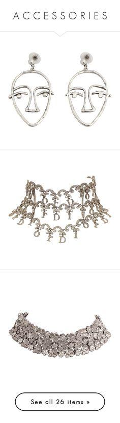 """A C C E S S O R I E S"" by leeloxcny on Polyvore featuring jewelry, earrings, accessories, acc, metal jewellery, earring jewelry, cuff jewelry, mango jewellery, cuff earrings et jewels"