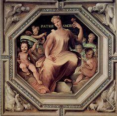 Allegoria dell'amor di patria (1529-1535; Siena, Palazzo Pubblico, Sala del Concistoro)