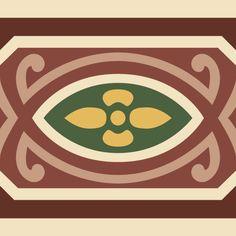 ODYSSEAS 408 Handmade Tiles, Chicago Cubs Logo, Team Logo, Logos, Pattern, Art, Cement, Greece, Tiles