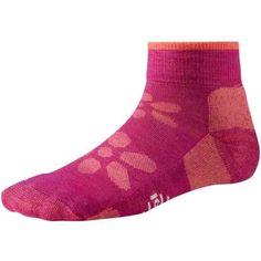 SmartWool Outdoor Light Mini Sport Socks - Merino Wool, Ankle (For Women) in Blue - Hiking Socks, Sport Socks, Spa Day, Merino Wool, Ankle, Mini, Sports, Blue, Outdoor