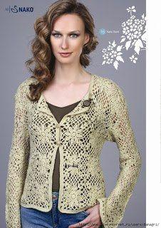 Crochet.es.un.arte!: Saco de Verano..
