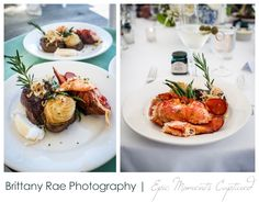 Harborview at Jones Landing Wedding, Peaks Island Maine - filet and lobster tail Peaks Island Maine, Casco Bay, Harbor View, Tandoori Chicken, Landing, Weddings, Ethnic Recipes, Food, Wedding