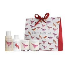 Green and Spring Indulging Gift Set