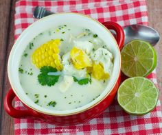 Latin Chicken Soup Recipe - Pisca Andina - Living Sweet Moments