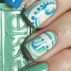 Essie Summer Colors by from Nail Art Gallery Get Nails, Fancy Nails, Love Nails, How To Do Nails, Pretty Nails, Hair And Nails, Crazy Nails, Essie, Just In Case