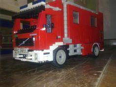 Moje wozy bojowe straży z LEGO [akcja klocek dla straży]