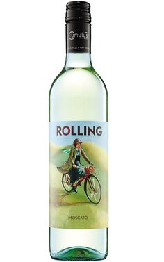 Cumulus Rolling Moscato 2017 Central Ranges - 12 Bottles Low Alcohol Wine, Japanese Whisky, Grape Juice, Tropical Fruits, Sauvignon Blanc, Wine Tasting, Ranges, Vodka Bottle, Bottles